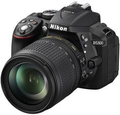 Зеркальный фотоаппарат Nikon D5300 Kit 18-105 VR (черный)