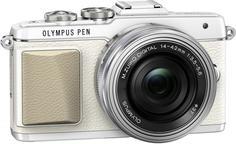 Фотоаппарат со сменной оптикой Olympus Pen E-PL7 Kit 14-42 EZ (белый)