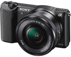 Фотоаппарат со сменной оптикой Sony Alpha A5100L Kit 16-50 (черный)