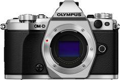 Фотоаппарат со сменной оптикой Olympus OM-D E-M5 Mark II Body (серебристый)