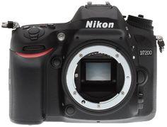 Зеркальный фотоаппарат Nikon D7200 Body (черный)