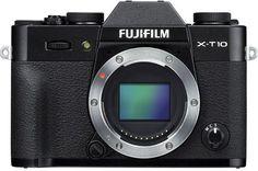 Фотоаппарат со сменной оптикой Fujifilm X-T10 Body (черный)