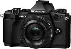 Фотоаппарат со сменной оптикой Olympus OM-D E-M5 Mark II Kit EZ-M 14-42 EZ (черный)
