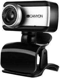Веб камера Canyon CNE-HWC1 (черный, серебристый)