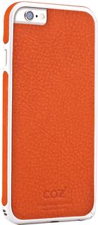 Клип-кейс Клип-кейс Cozistyle Leather Skin Bumper для Apple iPhone 6/6S (оранжевый)
