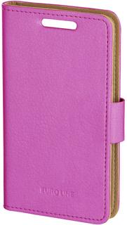 "Чехол-книжка Чехол-книжка Euro-Line EL Jacket для смартфона 3-4.2"" (розовый)"