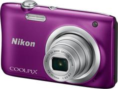 Цифровой фотоаппарат Nikon Coolpix A100 (фиолетовый)