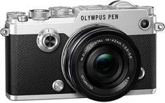 Фотоаппарат со сменной оптикой Olympus PEN-F Kit 14-42 EZ (серебристый)
