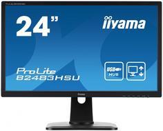 Монитор Iiyama ProLite B2483HSU-B1DP (черный)