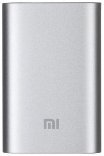 Портативное зарядное устройство Xiaomi Mi Power Bank 10000 мАч (серебристый)