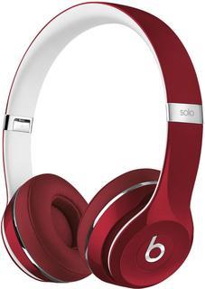 Наушники Beats Solo2 Luxe Edition (красный)