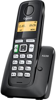 Радиотелефон Gigaset A220 (черный)