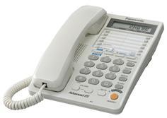 Проводной телефон Panasonic KX-TS2368 (белый)