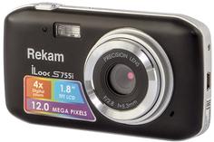 Цифровой фотоаппарат Rekam iLook S755i (черный)