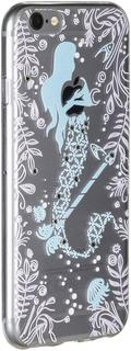 Клип-кейс Клип-кейс Smarterra Rhinestomes Дизайн русалка 1 для Apple iPhone 6/6S (с рисунком)