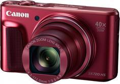 Цифровой фотоаппарат Canon PowerShot SX720 HS (красный)