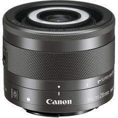 Объектив Canon EF-M 28mm f/3.5 Macro IS STM (черный)