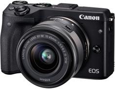 Фотоаппарат со сменной оптикой Canon EOS M3 Kit 15-45 IS STM (черный)