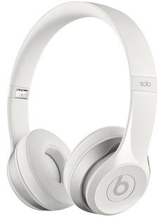 Bluetooth-гарнитуры Beats Solo2 Wireless (глянцевый белый)