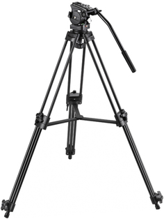 Штатив Fancier FC-370A Video Tripod Kit (черный)