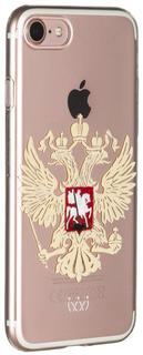 Клип-кейс Клип-кейс VLP для Apple iPhone 7/8 Герб (прозрачный)
