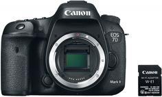 Зеркальный фотоаппарат Canon EOS 7D Mark II Body W-E1 Wi-Fi Adapter (черный)