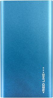 Портативное зарядное устройство Red Line J01 4000 мАч (синий)