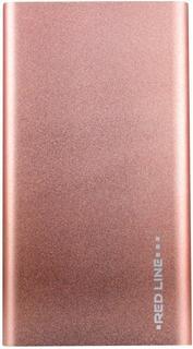 Портативное зарядное устройство Red Line J01 4000 мАч (розовый)