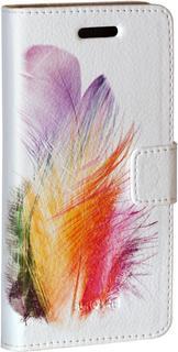 "Чехол-книжка Чехол-книжка Euro-Line Jacket Print SU17-01 vivid для смартфона 5"" (с рисунком)"