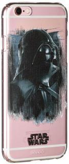 """Клип-кейс Клип-кейс Deppa Art для Apple iPhone 6/6S рисунок """"Star Wars Изгой Вейдер"""" (прозрачный с рисунком)"""