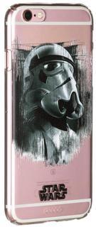 """Клип-кейс Клип-кейс Deppa Art для Apple iPhone 6/6S рисунок """"Star Wars Изгой Штурмовик"""" (прозрачный с рисунком)"""