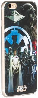 """Клип-кейс Клип-кейс Deppa Art для Apple iPhone 6 Plus/6S Plus рисунок """"Star Wars Изгой Империя"""" (черный с рисунком)"""