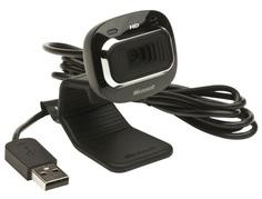 Веб камера Microsoft LifeCam HD-3000 (черный)