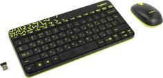 Клавиатура + мышь Logitech MK240 Nano