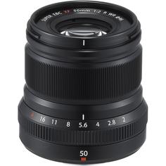 Объектив Fujifilm XF 50mm F2.0 R WR (черный)