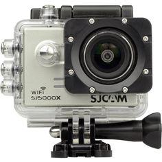 Экшн-камера SJCAM SJ5000X (серебристый)