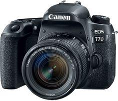 Зеркальный фотоаппарат Canon EOS 77D 18-55 mm IS STM (черный)