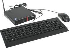Системный блок Lenovo ThinkCentre M600 TINY 10G9001KRU (черный)