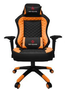 Игровое кресло Red Square LUX (оранжевый)