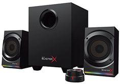 Компьютерная акустика Creative Sound BlasterX Kratos S5 (черный)