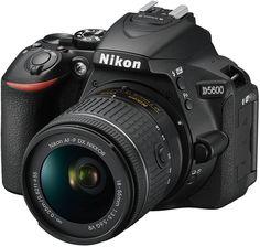 Зеркальный фотоаппарат Nikon D5600 KIT 18-55 VR AF-P + 70-300 VR AF-P (черный)