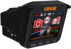 Видеорегистратор Каркам КОМБО 3S + камера заднего вида (черный)