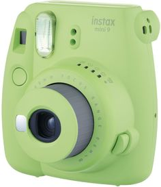 Фотоаппарат моментальной печати Fujifilm INSTAX MINI 9 (салатовый)