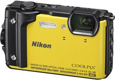Цифровой фотоаппарат Nikon Coolpix W300 (желтый)