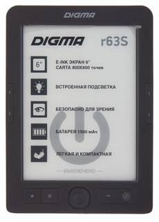 Электронная книга Digma R63S (темно-серый)