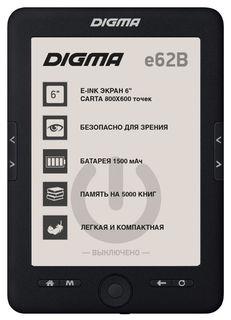 Электронная книга Digma E62B (черный)