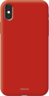 Клип-кейс Клип-кейс Deppa Air Case для Apple iPhone X (красный)