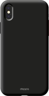 Клип-кейс Клип-кейс Deppa Air Case для Apple iPhone X (черный)