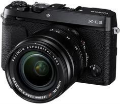 Цифровой фотоаппарат Fujifilm X-E3 18-55mm (черный)