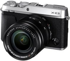 Цифровой фотоаппарат Fujifilm X-E3 18-55mm (серебристый)